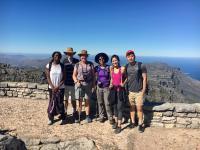 Large Group hiking
