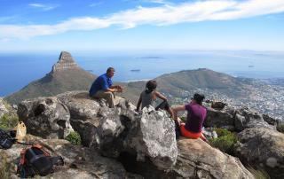 Hiking India Venster Table Mountain