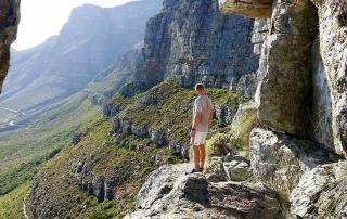 Table Mountain hike Cape Town