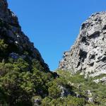Hiking Kasteelspoort Table Mountain