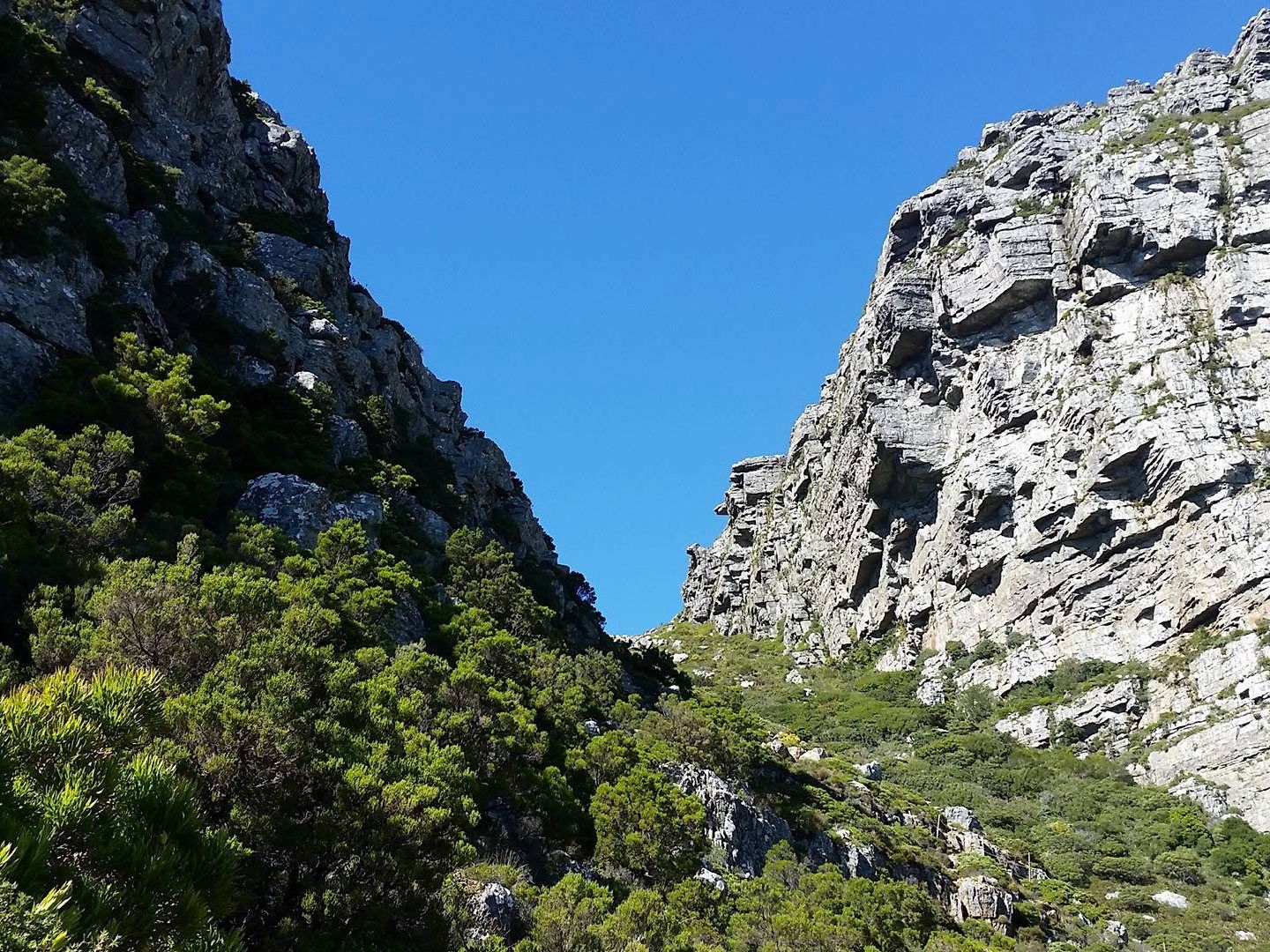 Kasteelspoort Hiking Route On Table Mountain South Africa