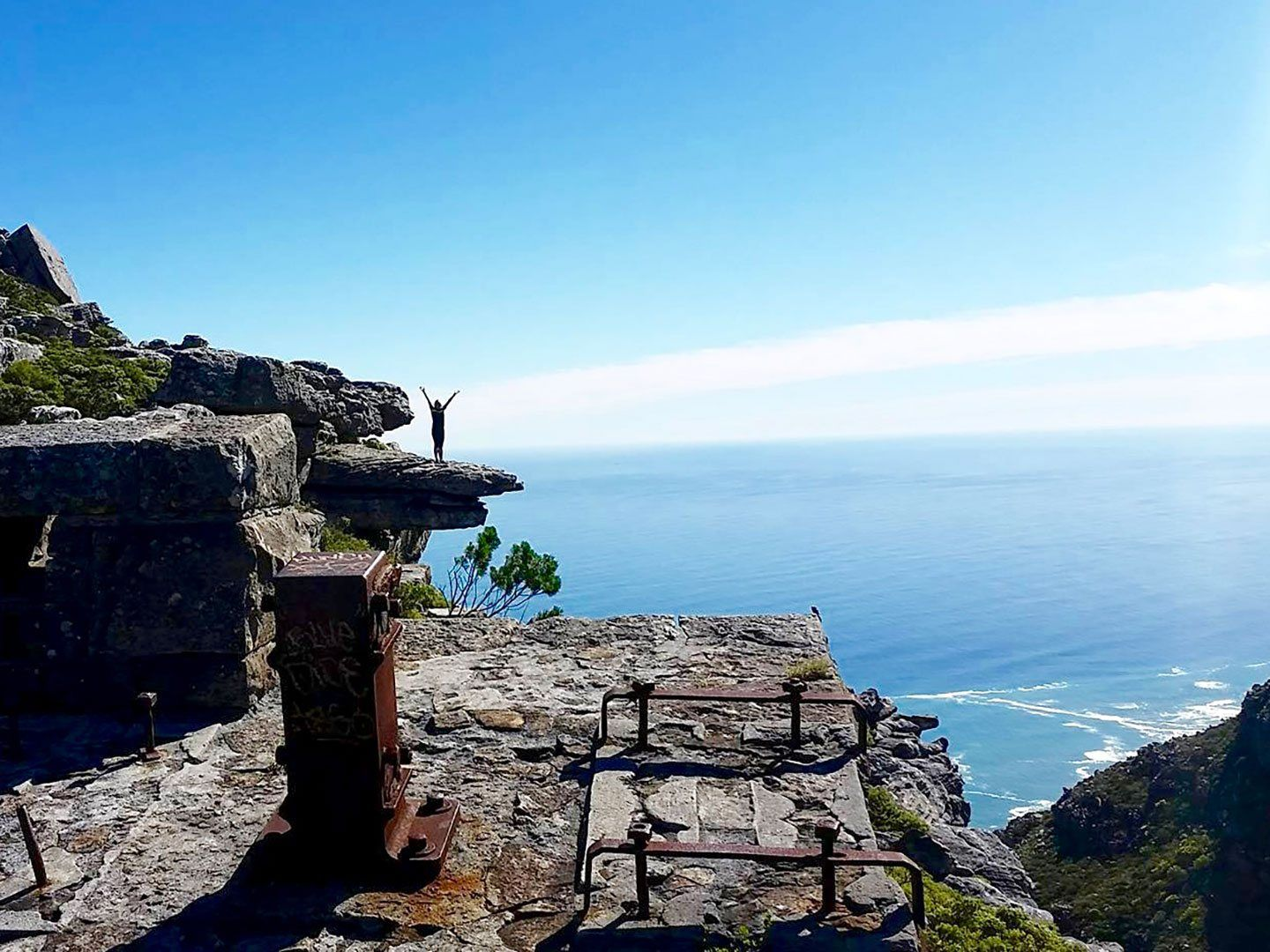 Kasteelspoort hike Table Mountain South Africa