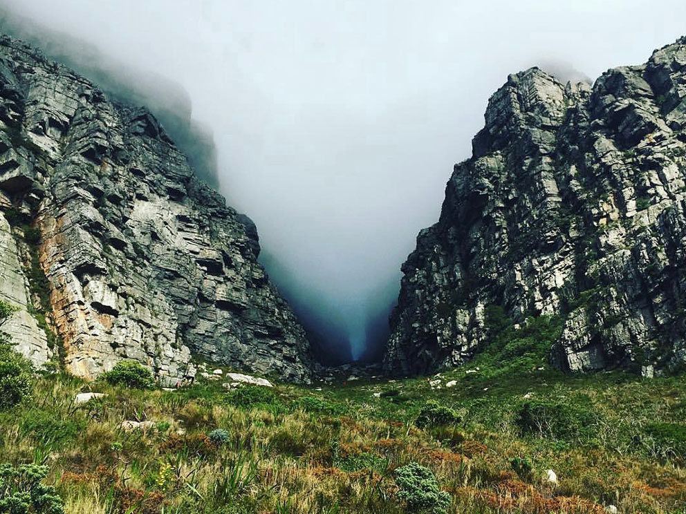 Table Mountain hiking weather