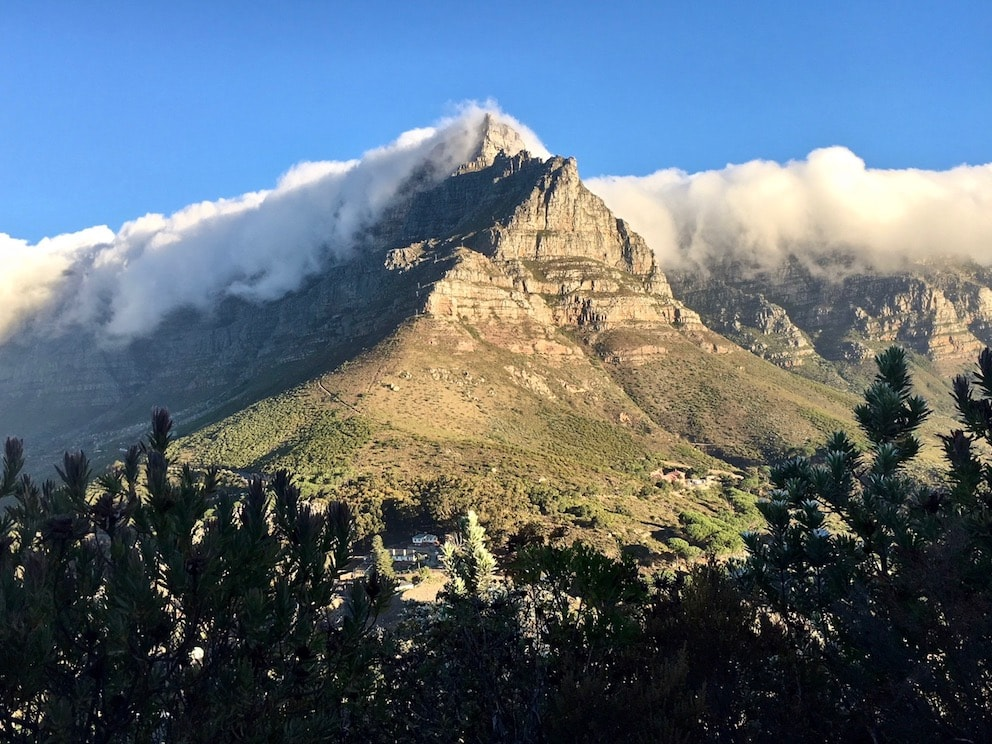 Table Mountain weather sightings