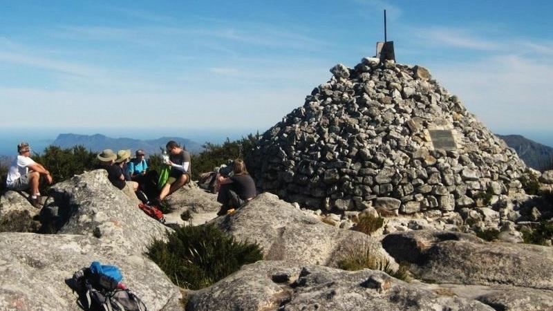 Maclear's Beacon hike Table Mountain