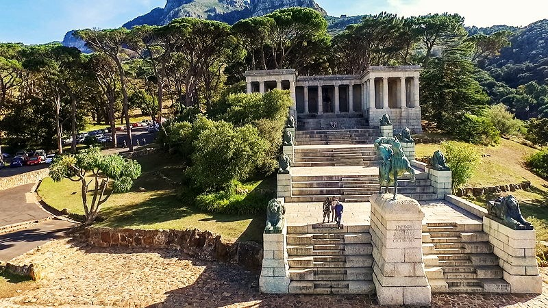 Rhodes Memorial Devil's Peak hike