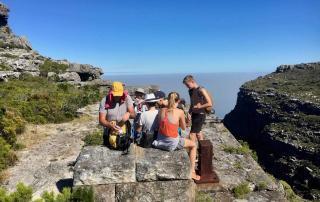 Table Mountain hiking route Kasteelspoort