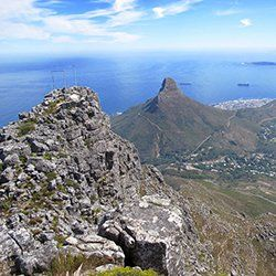 India Venster Table Mountain hike Cape Town