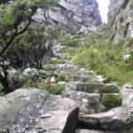 Platteklip gorge hiking route