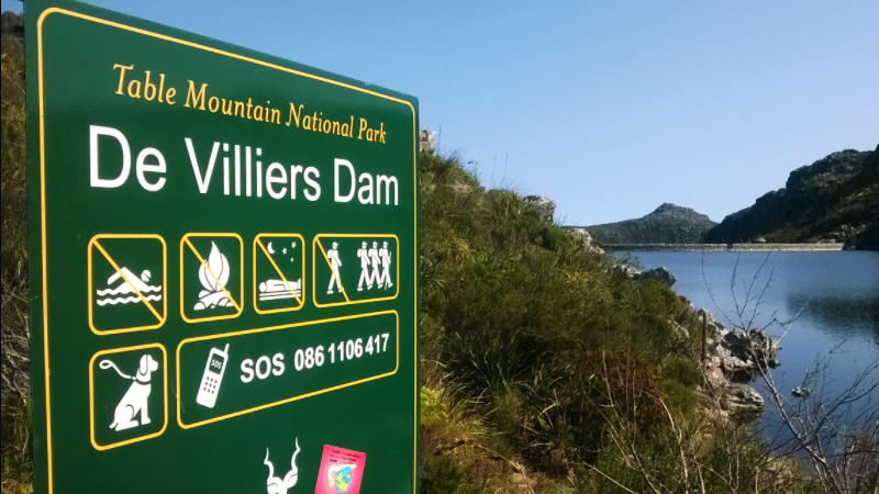 Dams on Table Mountain De Villiers Dam