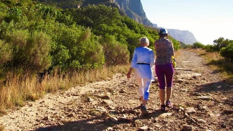 Easy Table Mountain hiking routes