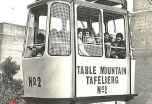 Table Mountain history Cable car