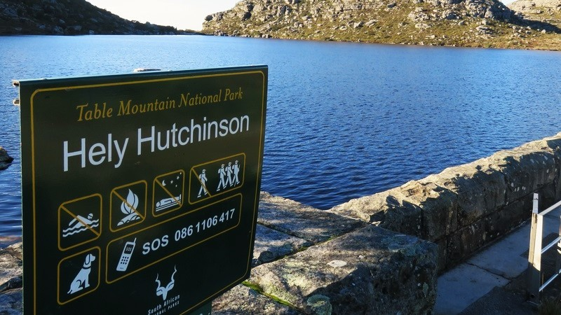Table Mountain hiking Hely Hutchinson