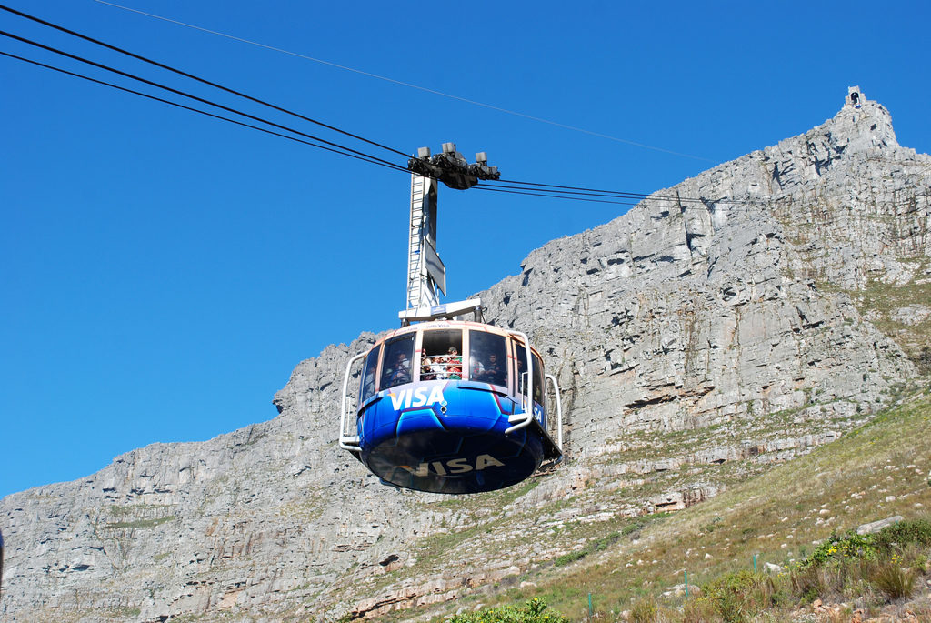 Cape Town cableway