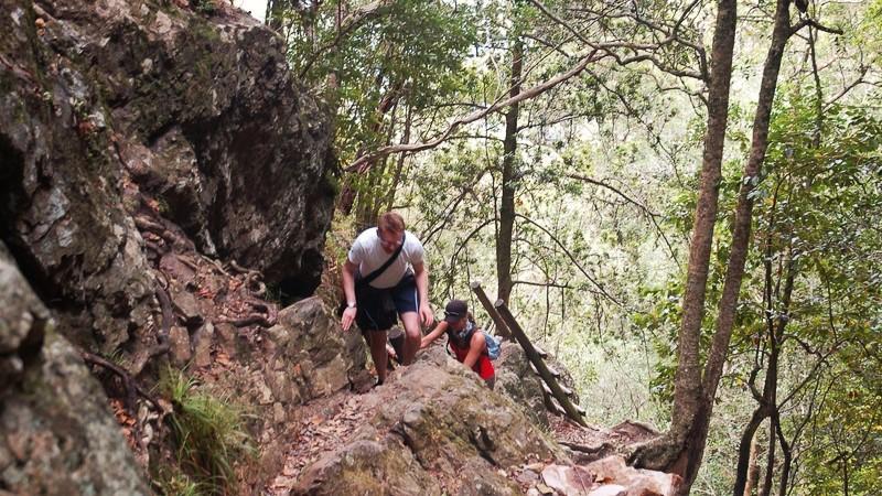 Skeleton Gorge route