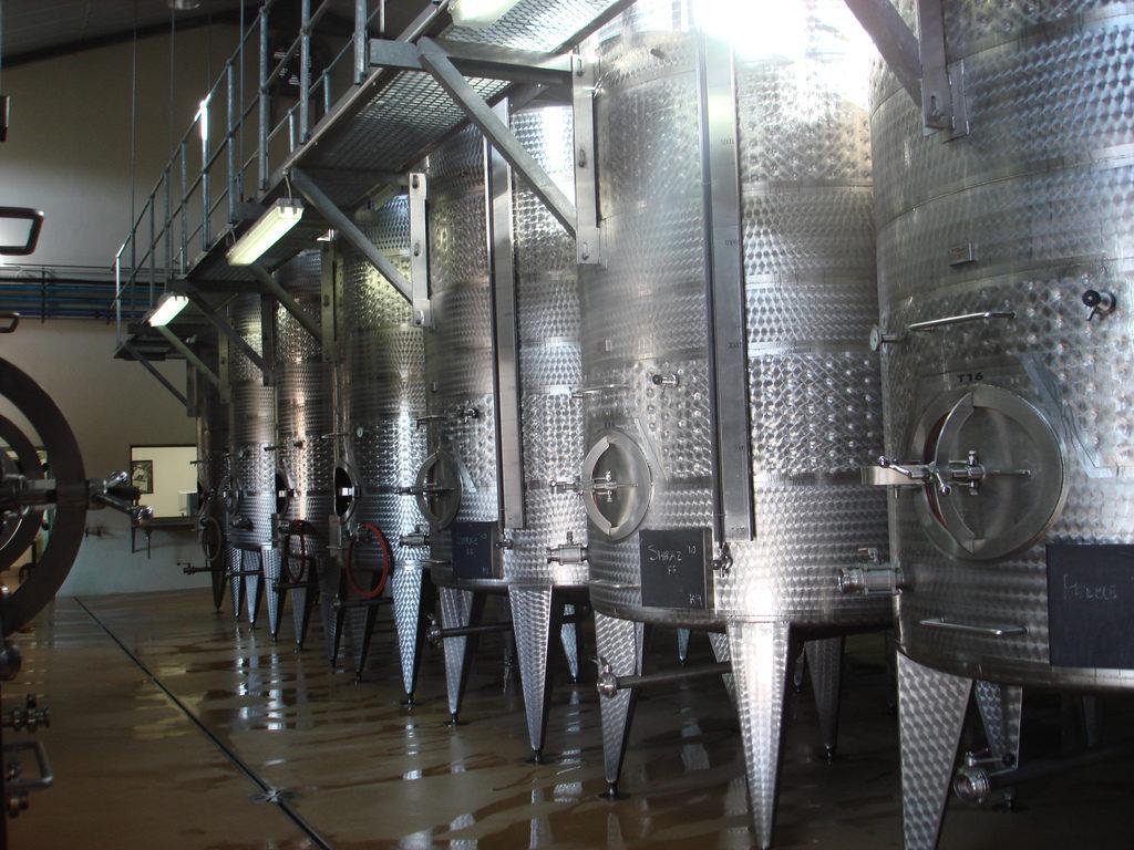 Stellenbosch wine making