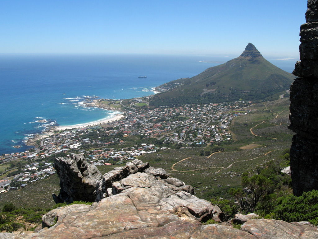 Table Mountain hike Kasteelspoort