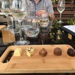 Wine and choc pairing