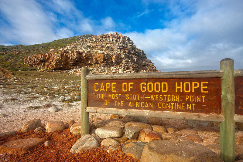 Cape Point location