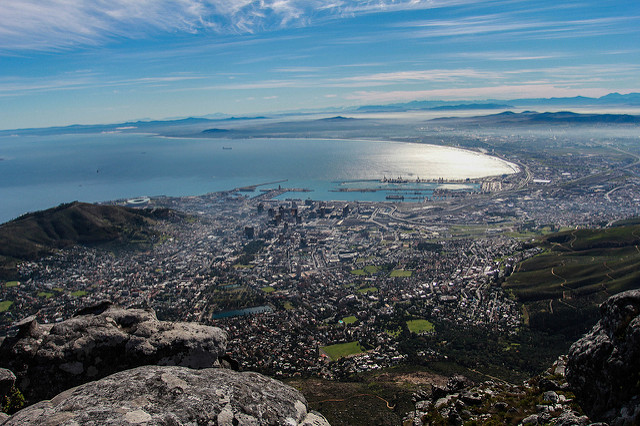 Hiking Cape Town view