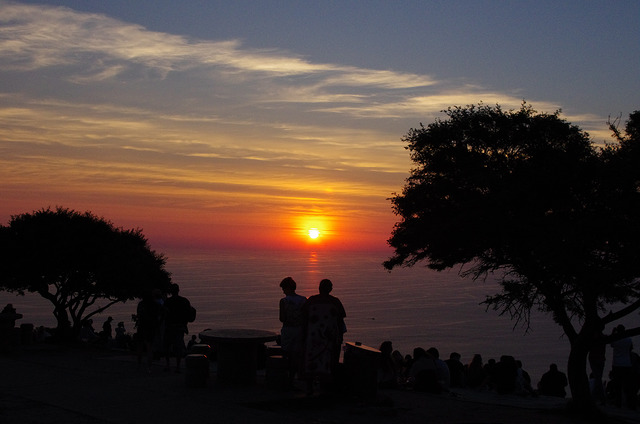 Sunset Cape Town Signal hill