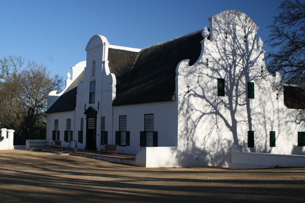 Constantia Cape Dutch farm house