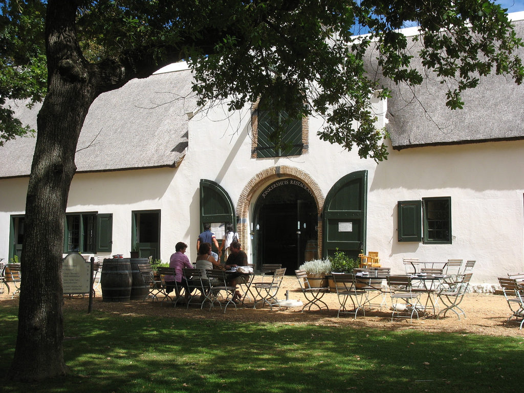 Constantia wine estate