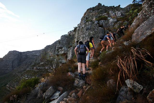Begin Table Mountain hiking