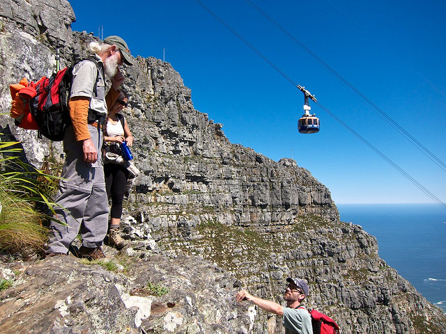 How to hike up Table Mountain