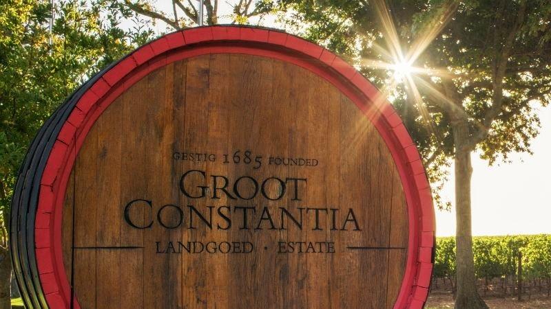 Constantia wine route estates