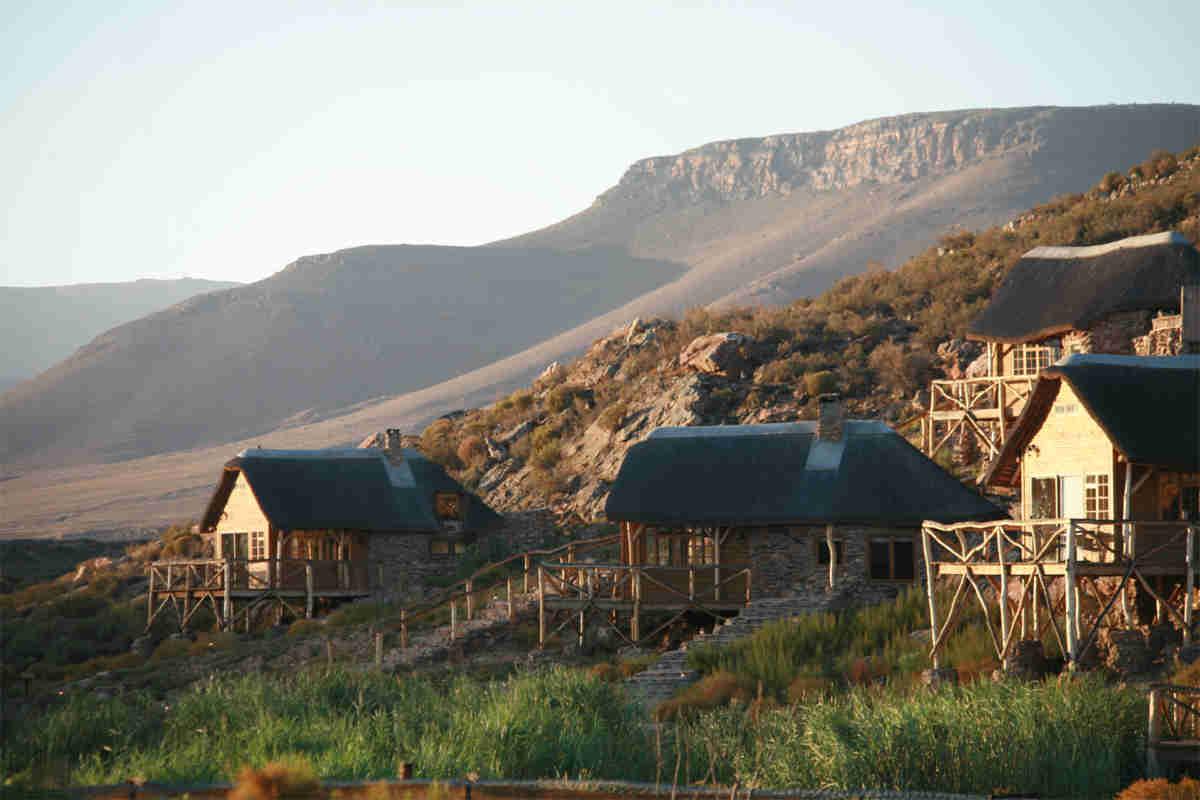 Safari lodge close to Cape Town