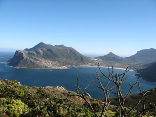 Cape Town hiking path