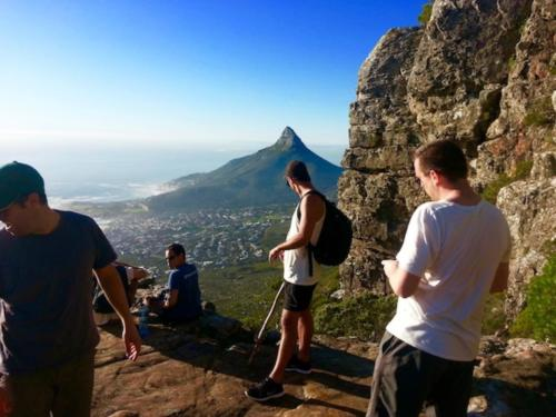 Hike Kirstenbosch to Table Mountain