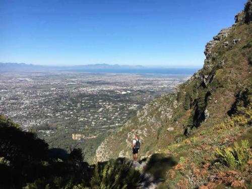Hiking Skeleton Gorge Table Mountain