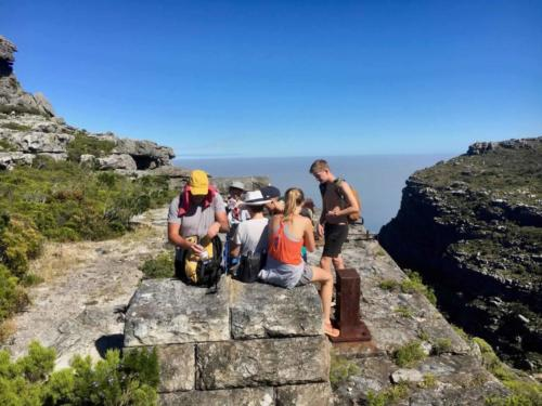 Table Mountain hiking route Kasteelspoort