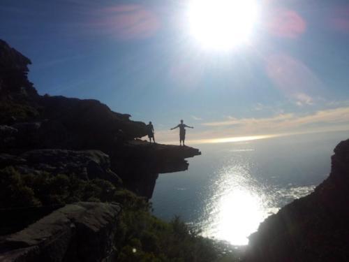 Secret location on Back Table Mountain