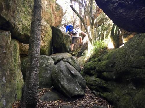Secret hike Table Mountain Cape Town