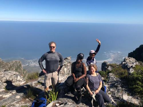Group hike with Hike Addicts in Cape Town