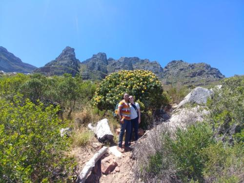 Hiking up Kasteelspoort on Table Mountain