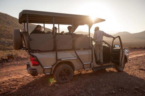 Cape Town 4x4 Safari vehicle