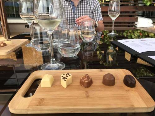 Wine and choc pairing