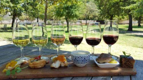 Wine tatsing treats