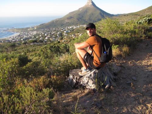 hiking to Kirstenbosch Gardens