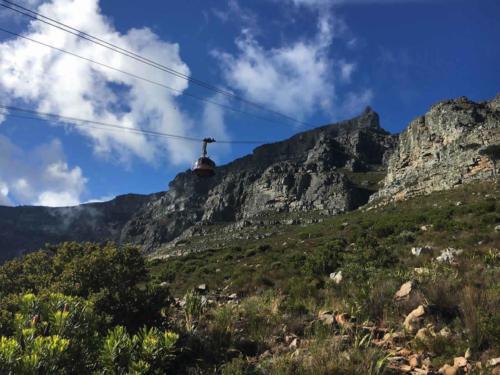 Platteklip Gorge hike on Table Mountain
